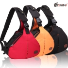 EIRMAI Canvas Shoulder / Waist Bag /Dslr Bag with quick shooting for Dslr Camera with PAD