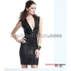 Women's Bandage Dress Celebrity Sleeveless Cocktail Party Evening Dresses  -046