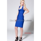 Women's Bandage Dress Celebrity Sleeveless Cocktail Party Evening Dresses -007