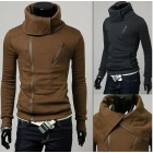 NWT Mens Slim Sexy Top Designed Hoody Jacket New fashion man Hooded Coat,M L XL ---38
