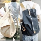 free shipping  The tide of canvas bag bag bag bag NanZhong female computer students lovers double shoulder pack