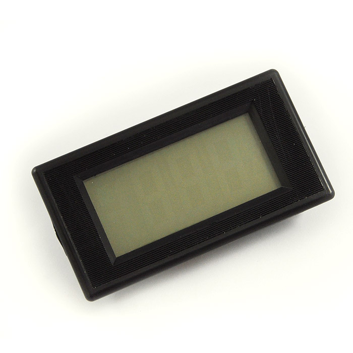 Pg Amp E Meter Number How Can I Know : Pcs blue lcd digital amp panel meter dc a wholesale
