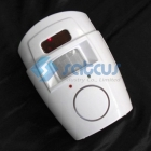 Home Security PIR Motion Sensor Alarm with 2 Remote Control+Drop&Free Shipping! - Tmall