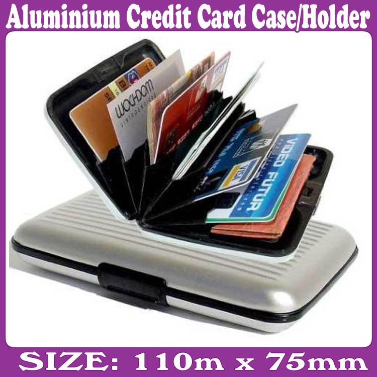 Aluminium CREDIT CARD HOLDER WALLET CASE PURSE – Wholesale ...
