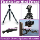 Gorillapod Type Flexible Leg Mini Tripod for Digital Camera (Small Size)_Free Shipping