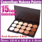 New Professional 15 Concealer Camouflage Makeup Palette_Free Shipping
