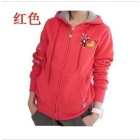 New sports leisure fashion clothing han edition who mouth monkey cardigan even cap coat