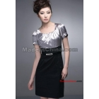 free shipping Korean Fashionable short-sleeved dress skirt size M L XL XXL