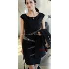 free shipping Fashionable women's OL commuter dress skirt size M L XL XXL N1