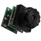 Free shipping 12v mini camera for car, home,car,RC plane,Airplane model-0.008lux night vision,size:9.5x9.5x18mm,weight 1g+12month warranty