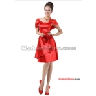 2012 new red dress short money toast under a bridesmaid clothing