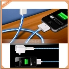 Cool Bue Visible LED USB Charge Sync Cable For     3