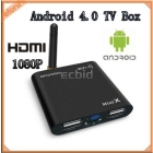 Android 4.0 WIFI HDMI Full HD 1080P HDTV Google Smart TV Box A10 Media Player