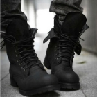 Free shipping fashion new Cowboy  boots men's boots double boots, military boots, male high-top boots England Korean Fashion
