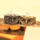Fashion HOTSELL Jewelry wholesale Clever owl rings rings  European and American women