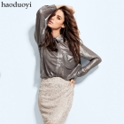 Free Shipping women breathable fabric loose blouse bling shirt