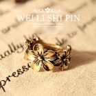 Fashion HOTSELL Jewelry wholesale  retro  nostalgic small  flowers Ring [A101]