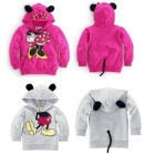 Hot Design Free Shipping Wholesale new  Children's  Girls Boys Classic &Minny Design Hoodies Coat 5pcs/lot