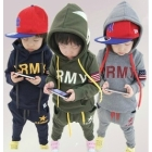 2012 Autumn Korean wholesale  Children's long-sleeved suit  boys leisure and sport package