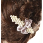 FREE SHIPPING-fashion jewellery group only HOTSELL ELEGANT SWEET  PEARL BOWKNOT HAIRWEAR