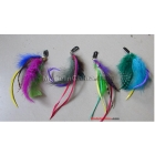 Feather Wigs With Hair Clips Fashion Design Hair Extensions Wigs 200pcs a lot Synthetic Feather Hair Extension from Rita yib Free shipping by DHL directly ship from china factory to your home