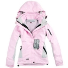 new Leopard grain women's Outdoor sport jackets ladies Waterproof breathable windproof 3 layer 2in1 Outdoor coat free shipping