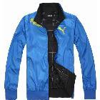 Free shipping !~2013 Men's double-sided wear leisure sports jackets coats black/blue size:L/XL/XXL/XXXL