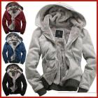 Promotional 2012 new men's plush thick warm overcoat winter coat fleece & cotton padded Jacket Men jackets S M L XL XXL 4-color