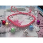 FREE SHIPPING Wai fluid braided rope bell/pet dog bell bell/pet necklace dog necklace