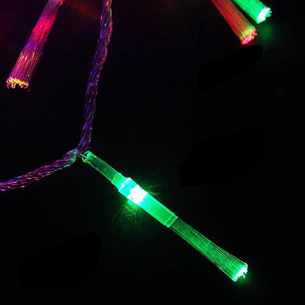 Fiber Optic Blossom Led String Lights Plug In Multi Color : 8 mode LED Optical Fiber String Lamp Light 10m Wholesale Free shipping!!8-mode 100-LED Optical ...