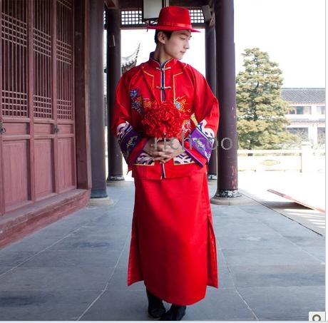 Chinese Style Wedding Dress Xiuhe Clothing Male Ancient Costume Hanfu Stage Costumes Sweethearts Outfit From Madeinchina Wholer On