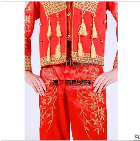 Spain opening uniform modern dance dress wholesale spain opening