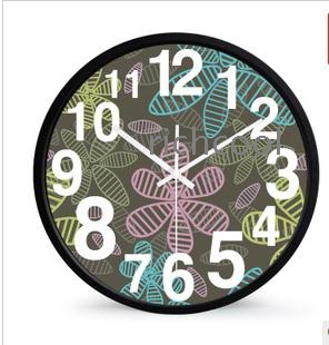 Flowers diagram clock quartz clock mute wall clock wholesale flowers diagram clock quartz clock mute wall clock sitting room fashion clock rural supe ccuart Choice Image