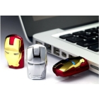 The unique iron man model USB 2.0 Enough Memory Stick Flash pen Drive 64G