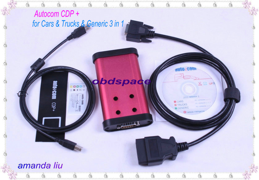 AUTOCOM CDP Plus for Cars Trucks OBD2 2012 03 Red – Wholesale