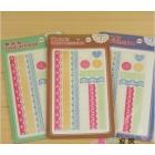 16 photo album book decoration DIY sticker xh 6129 single bud silk stick
