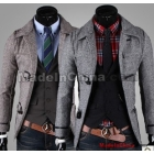 Free Shipping Wholesale New arrival specials fashion male casual Korean personality claw button Mens short coat