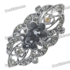 Austrian Crystal Long Ring (Black Onyx) SKU:89586
