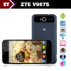 New Arrivals in September ZTE V967s 5.0 inch IPS QHD 960x540 MTK6589 1.2GHz Quad Core Android 4.2 Bluetooth 5.0MP Camera WCDMA