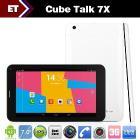 Cube U51GT W U51GTW Talk 7X Android Tablet PC 7 inch Phone Call MTK8312 Dual Core 1.3GHz WCDMA GPS Bluetooth FM