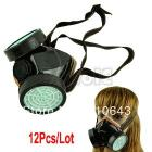 12pcs/Lot Wholesale New Spray Respirator Gas Safety Anti-Dust Chemical Paint Spray Mask 0669