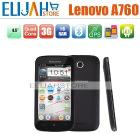 Lenovo A760 MSM8225Q Quad Core 3G mobile phone 4.5'' Capacitive Dual Camera Dual SIM Android 4.0 Bluetooth GPS FM 1G/4GB