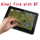 free shipping android 4.1 7inch ainol flame/fire dual core dual camera AML8726-MX 1.5GHz 1GB/16GB with metal shell bluetooth