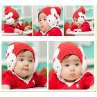 Free Shipping Earflap Hat Lovely Boy Girl Hats,Winter  hats, Cartoon Earmuffs Warm Hats, Free Shipping, PMM059