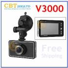 Newest Plate Number Car DVR Camera full hd V3000 HDMI +1920*1080P + GPS(optional)+G-sensor,camera Video Recorder Free shipping