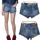 Summer short pants women 2013 Mini Retro Rivet Decoration Jeans Shorts 5 sizes 13453