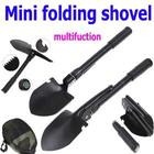 Hot Sale Mini Multi-function Folding Shovel Survival Trowel Dibble Pick Camping Outdoor Tool, Free shipping Wholesale