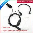 New Throat Mic for  Radio KPG27D THD7 -208 HYT Walkie talkie two way CB Ham Radio C0014A Eshow