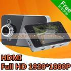 1080P Car DVR Recorder , 2013 Newest Car Black Box K6000 with 2.7