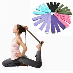 Alipower New Yoga Stretch Strap D-Ring Waist Leg Fitness 180CM Adjustable Belts Free shippng & wholesale